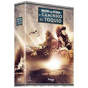 DVD BOX Marcha Para Vitória A Caminho de Tóquio 5 DVDs