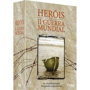 DVD Box Heróis da II Guerra Mundial - 5 DVDs