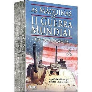 DVD Box 5 DVD's As Máquinas da II Guerra Mundial Os Americanos