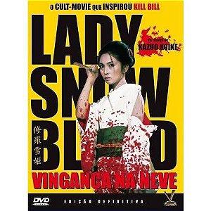 Dvd Lady Snowblood: Vingança Na Neve - Kazuo Koike - Versátil