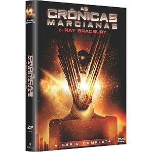 DVD As Crônicas Marcianas - A Série Completa (3 DVDs)