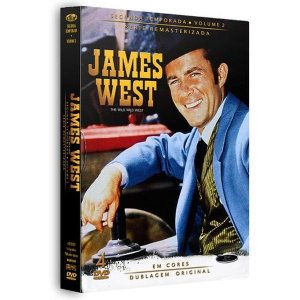 DVD James West - 2ª Temporada - Vol. 2 - 4 Discos
