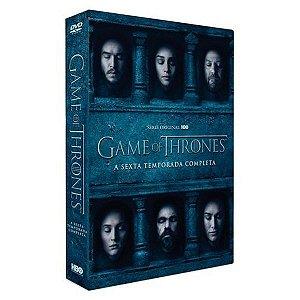 DVD BOX Game Of Thrones - 6ª Temporada - 5 Discos