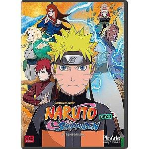 DVD - Naruto Shippuden: 2ª Temporada Box 1 (5 Discos)