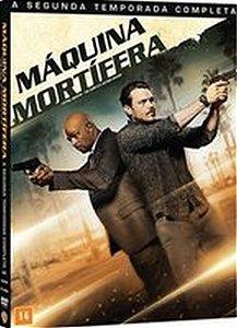 Box Dvd Máquina Mortífera  2 Tempoarda 4 Discos