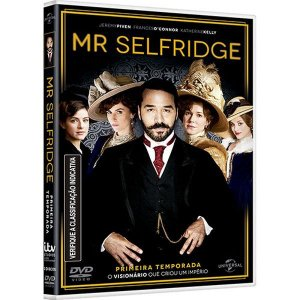 DVD Mr Selfridge - Primeira Temporada (3 DVDs)