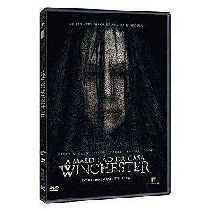 DVD A MALDICAO DA CASA WINCHESTER