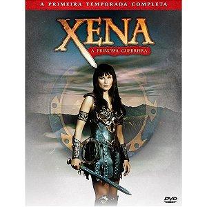 BOX DVD XENA - A PRINCESA GUERREIRA 1ª TEMPORADA (4 DISCOS)