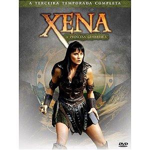 BOX DVD XENA - A PRINCESA GUERREIRA 3ª TEMPORADA (4 DISCOS)