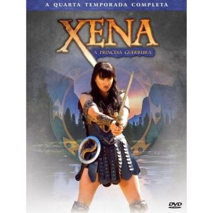 BOX DVD XENA - A PRINCESA GUERREIRA 4º TEMPORADA (4 DISCOS)