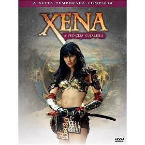 BOX DVD XENA - A PRINCESA GUERREIRA 6º TEMPORADA (4DISCOS)