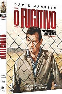 BOX DVD O FUGITIVO - 2ª TEMPORADA - VOL. 1 ( 4 DISCOS )