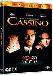 DVD  - CASSINO - 20o ANIVERSARIO - Robert De Niro