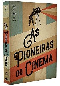Dvd - As Pioneiras do Cinema - 3 DISCOS