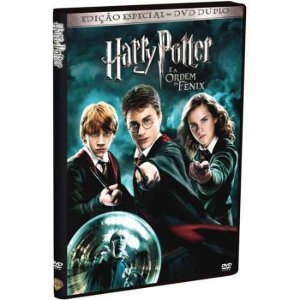 Dvd duplo Harry Potter e a  Ordem da Fênix