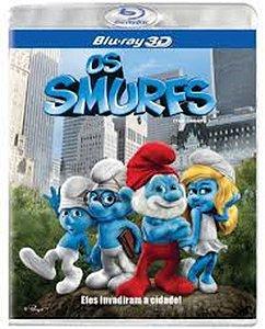 Blu-ray 3D/2D - Os Smurfs