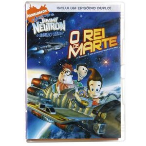 Dvd Jimmy Neutron O Rei De Marte