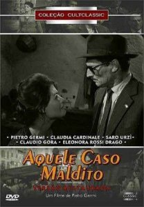 Dvd Aquele Caso Maldito - Claudia Cardinale