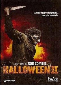 Dvd - Halloween 2 - Robie Zombie