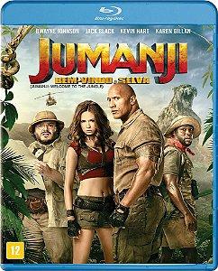 Blu-Ray - Jumanji - Bem Vindo à Selva - Dwayne Johnson