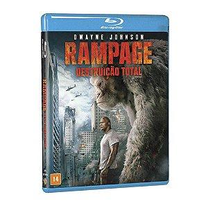 Blu-Ray - Rampage: Destruição Total
