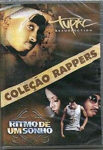 Dvd Coleção Rappers - Tupac / Ritmo De Um Sonho