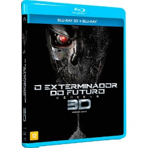 Blu-ray 3d - 2d O Exterminador Do Futuro: Gênesis