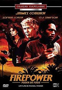 Dvd Firepower - Poder De Fogo - Sophia Loren