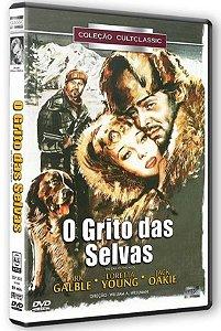 Dvd O Grito Das Selvas - Clark Galble