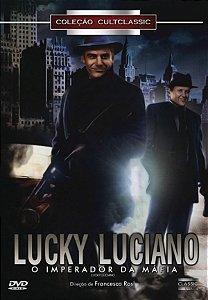 Dvd Luck Luciano O Imperador Da Máfia - Francesco Rosi