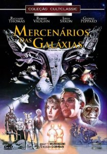 Dvd - Mercenários Das Galáxias - Richard Thomas
