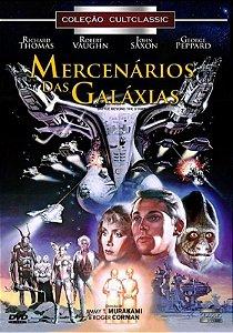 Dvd - Mercenários Das Galáxias - Richard Thomas