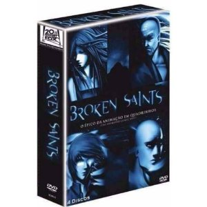 Box Dvd - Broken Saints (4 Discos) - Anime