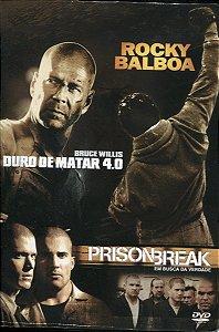 Box Rocky Balboa - Prison Break - Duro De Matar 4.0