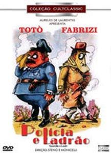Dvd Polícia E Ladrão - Totò