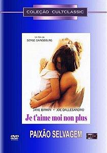 Dvd Paixão Selvagem - Serge Gainsbourg