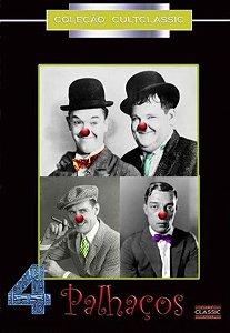 Dvd 4 Palhaços - Stan Laurel - Charley Chase