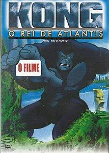 Dvd Kong O Rei De Atlantis - Desenho