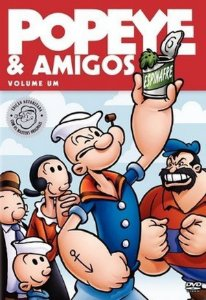 Dvd Popeye E Amigos - Vol.1 - 8 desenhos