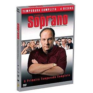 DVD Família Soprano - Primeira Temporada - 4 Discos