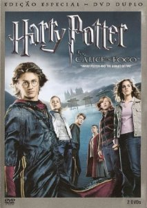 Dvd Duplo Harry Potter E O Cálice De Fogo - Daniel Radeliffe