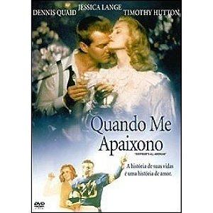 Dvd Quando Me Apaixono  - Jessica Lange