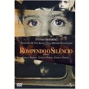 Dvd Duplo Rompendo O Silêncio - Steven Spielberg