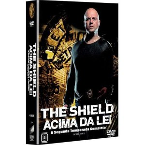 Box Dvd -The Shield Acima Da Lei - 2 Temporada - 4 Discos