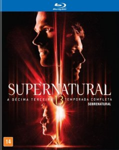 Blu ray Box - 13 Temporada de Supernatural - 4 Discos