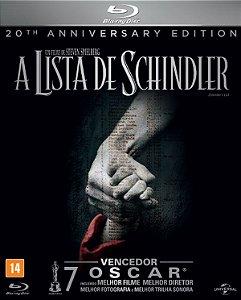 Blu ray A Lista De Schindler - Edição de Aniversário