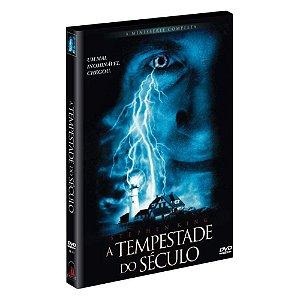 DVD - A Tempestade do Século - Stephen King - 2 discos