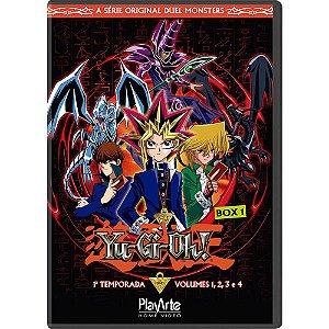 Box Dvd Yu-Gi-Oh - 1 Temporada - Box 1