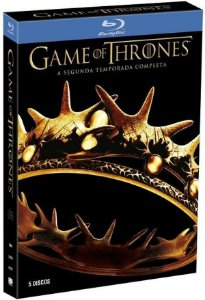 Box Blu ray  Game Of Thrones  2 Temporada  5 Discos