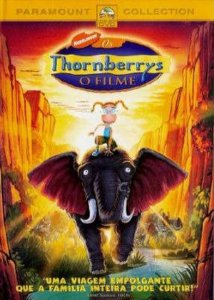 Dvd - Os Thornberrys: O Filme - Nickelodeon